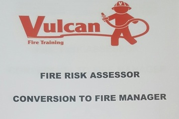 Fire Risk Assessor course held in Northampton 28th November-2nd December