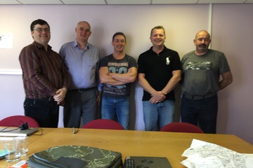 Success on the Fire Risk Assessor course in Glasgow last week