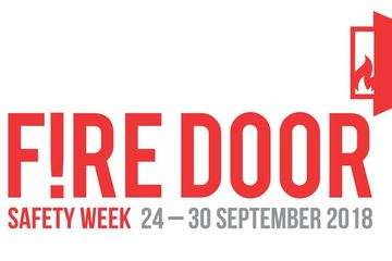 Fire Door Safety Week 2018 logo