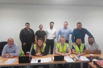 Successful Matalan Fire Risk Assessor course delegates