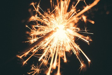 Keep safe with sparklers - warning from Vulcan Fire Training