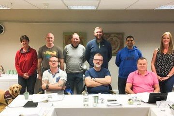 Success on the Fire Risk Assessor Course in Northampton last week.
