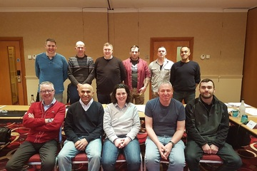 Successes on Fire Risk Assessor (Part 1 of Fire Manager) course held in Warrington