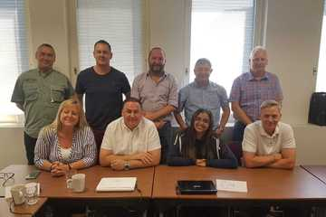 Successful delegates from the Managing Fire Safety Course - London
