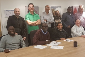 London Fire Risk Assessor course successful delegates