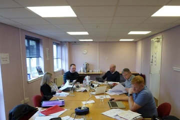 MD Graham Holloway delivers fire safety training courses in Glasgow