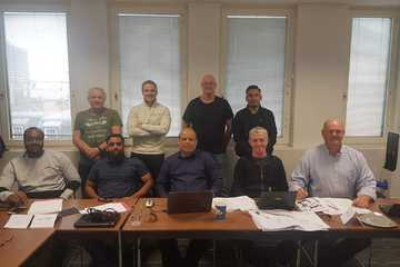 Successful delegates from last weeks Fire Risk Assessor/Conversion to Fire Manager Course.